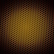 Stock Photo: Honeycomb Background