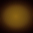 Royalty-Free Stock Photo: Honeycomb Background