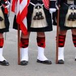 English Uniforms — Stock Photo