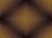 Sfondo a nido d'ape senza soluzione di continuità — Foto Stock