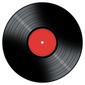 Music Record — Stock Photo