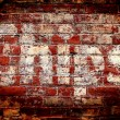 Chips Brick Wall — Stock Photo