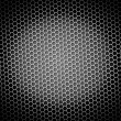 Royalty-Free Stock Photo: Honeycomb Background BW