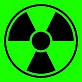 Radiation Warning Sign — Stock Photo