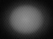 Honeycomb Background BW — Stock Photo