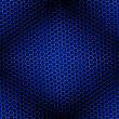 Royalty-Free Stock Photo: Honeycomb Background Seamless Blue