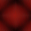 Honeycomb Background Seamless Red — Stock Photo