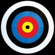 Archery target — Stock Photo