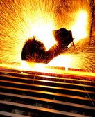 Steel flame — Stock Photo