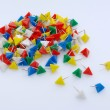 Stock Photo: Pushpins
