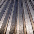 Stock Photo: Aluminium roof