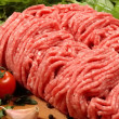 Ground meat - Stock Photo