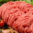 Ground meat — Stock Photo