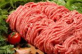 Ground meat — Stock Photo