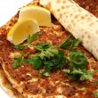 Turkish pizza — Stock Photo #1492361