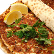 Stock Photo: Turkish pizza