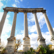 Stock Photo: Columns detail