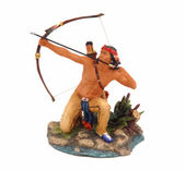 Figura indio — Foto de Stock