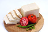 White cheese — Stock Photo