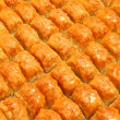 Baklava at market — Stock Photo