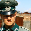 Germanic officer of Second World War — Stock Photo #1306076