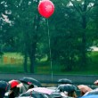 Stock Photo: Balloon in rain