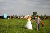 A honeymoon — Stock Photo