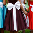 Stock Photo: Three dresses