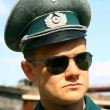 Stock Photo: Germanic officer of Second World War