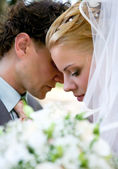 Newlyweds. — Stock Photo