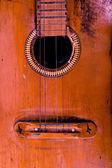 Oude gitaar — Stockfoto