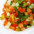 Fresh frozen vegetables — 图库照片