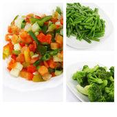 Fresh frozen vegetables — Stock Photo