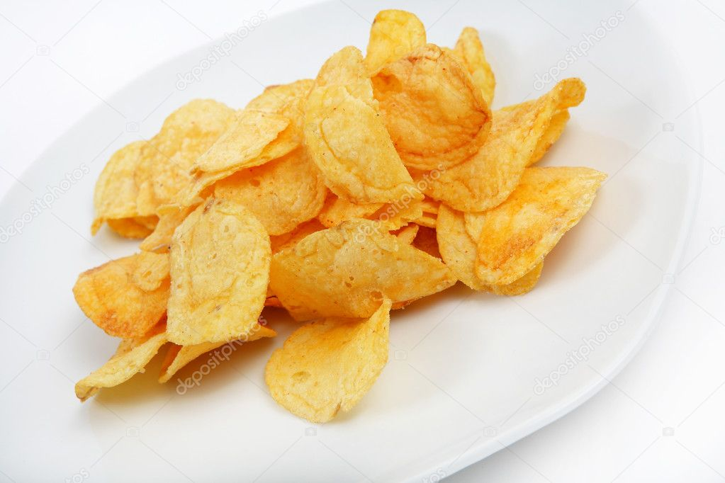 Crispy chips — Stock Photo #2422574
