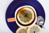 Tea with lemon — Foto de Stock
