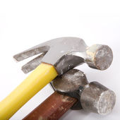 Two construction hammer — Stock Photo