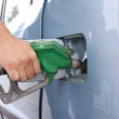 Car fueling at the gas station - Stock Photo