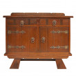 Antique cupboard - Foto Stock