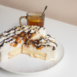 Royalty-Free Stock Photo: Tangerine cheesecake
