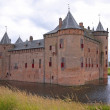 Medieval castle Muiderslot - Stock Photo
