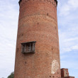 Main tower of Turaida medieval castle — Stock Photo