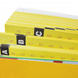 Yellow pages close-up — Stock Photo