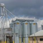 Grain Silos 1 — Stock Photo