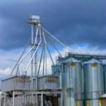 Grain Silos 3 — Stock Photo