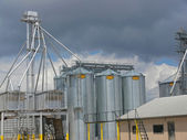 Grain Silos 1 — Stock Photo