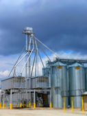 Grain Silos 3 — Stock Photo
