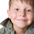 Portrait of smiling boy — Stock Photo