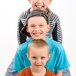 Stock Photo: Three boys