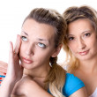 Two young women - Stock Photo