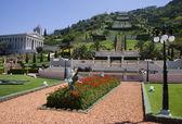 Baha'i Gardens in Haifa — Stock Photo